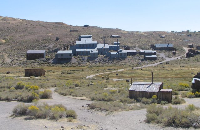 Bodie mining district, outside