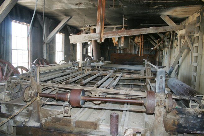 Bodie mining district, inside
