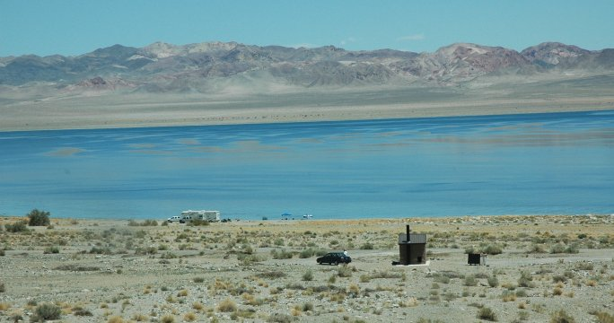 tamarack beack at Walker Lake Nevada