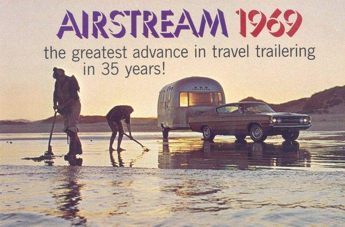 Airstream trailer brochures