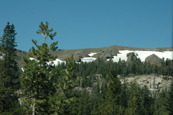 towards carson pass