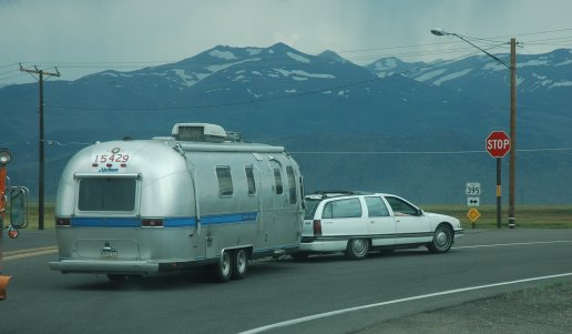 Airstream sightings