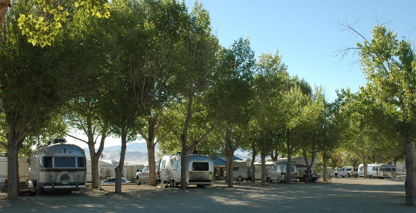 Airstream rallies at Weed Heights