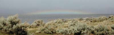 Washoe Lake Rainbow March 25 2006